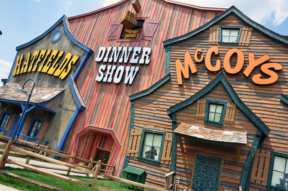 Hatfields And Mccoys Dinner Show  4 Music Shows in Pigeon Forge You Have To See Your Next