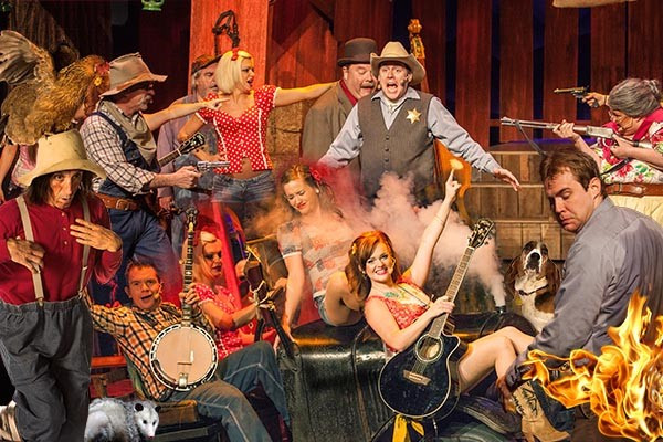 Hatfields And Mccoys Dinner Show  Hatfield and McCoy Dinner Show in Pigeon Forge