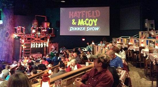 Hatfields And Mccoys Dinner Show  hatfield and mccoy dinner show seating chart