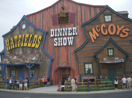 Hatfields And Mccoys Dinner Show  Hatfield & McCoy Dinner Show Pigeon Forge TN on