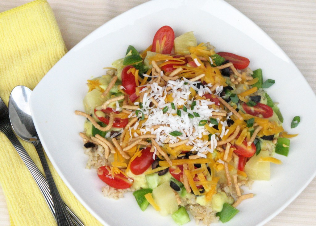 Hawaiian Main Dishes  Spare the meat Meatless Hawaiian Haystacks without