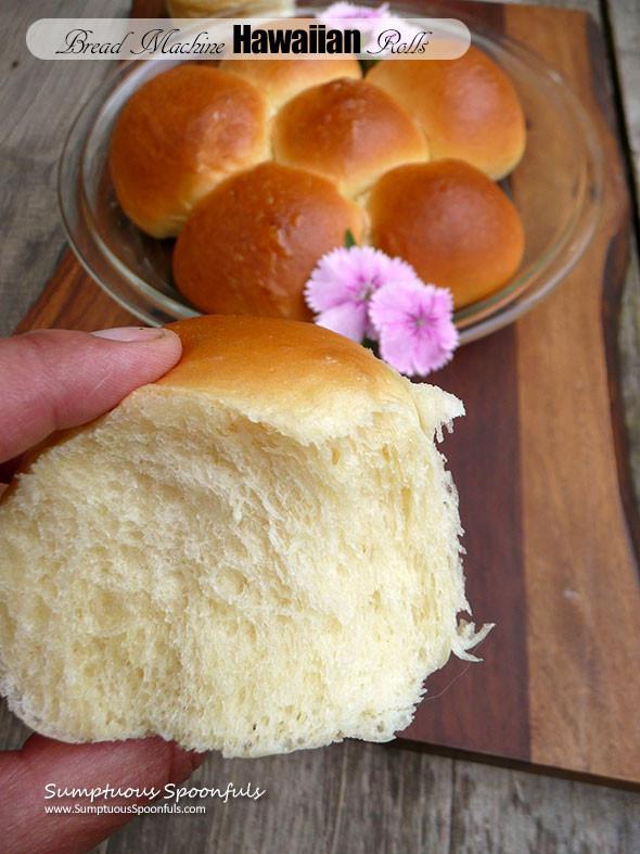 Hawaiian Sweet Bread Recipe  Bread Machine Hawaiian Rolls
