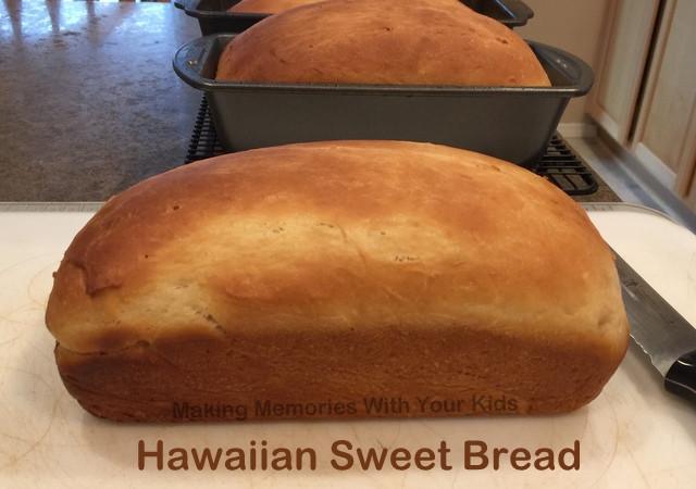 Hawaiian Sweet Bread Recipe  hawaiian sweet bread