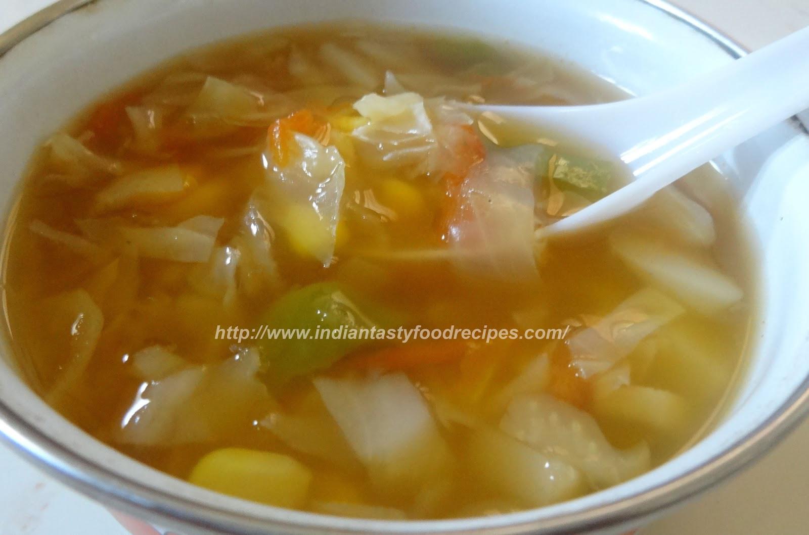 Healing Cabbage Soup  Healing Cabbage Soup Recipe — Dishmaps