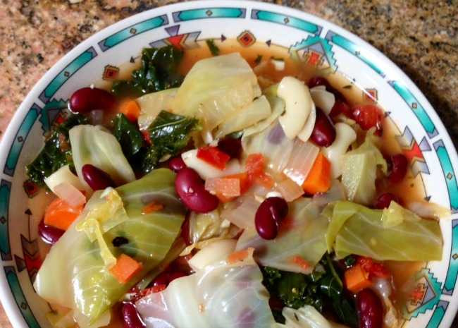 Healing Cabbage Soup  Soothing Soups For Cold And Flu Season