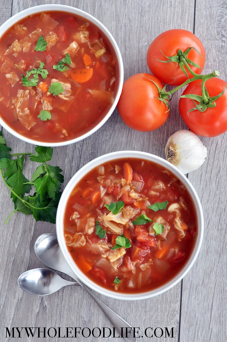 Healing Cabbage Soup  Slow Cooker Cabbage Soup My Whole Food Life