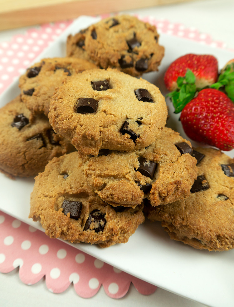 Healthier Chocolate Chip Cookies  Healthy Chocolate Chip Cookies