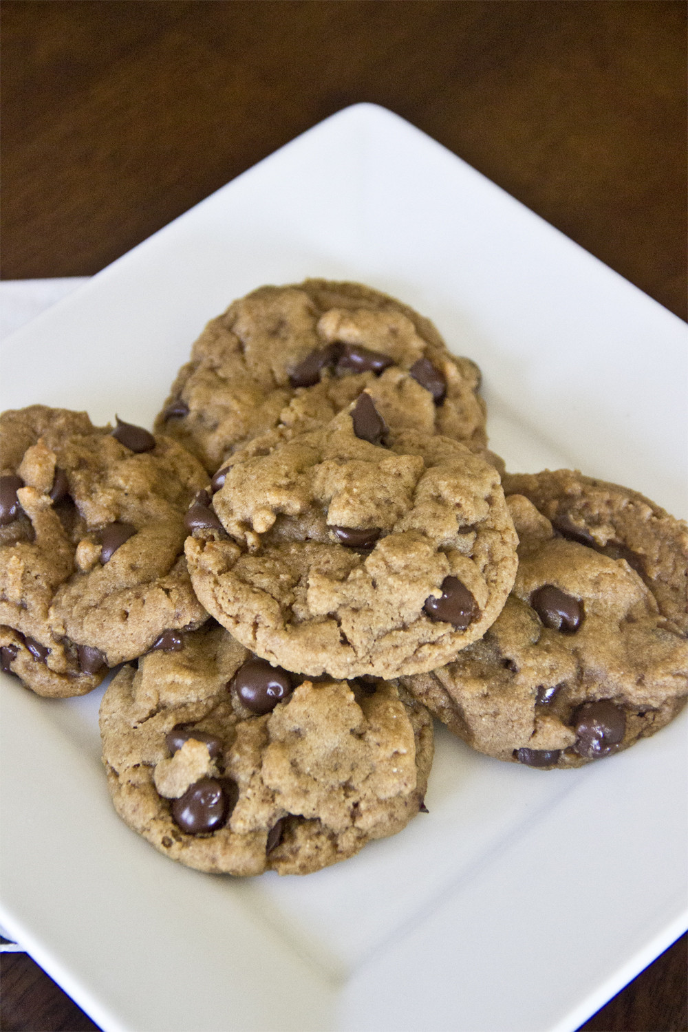 Healthier Chocolate Chip Cookies  Healthy Chocolate Chip Cookies Naturally Sweetened Cookies