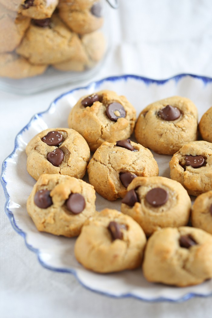 Healthier Chocolate Chip Cookies  Healthy Chocolate Chip Cookies Eat Yourself Skinny