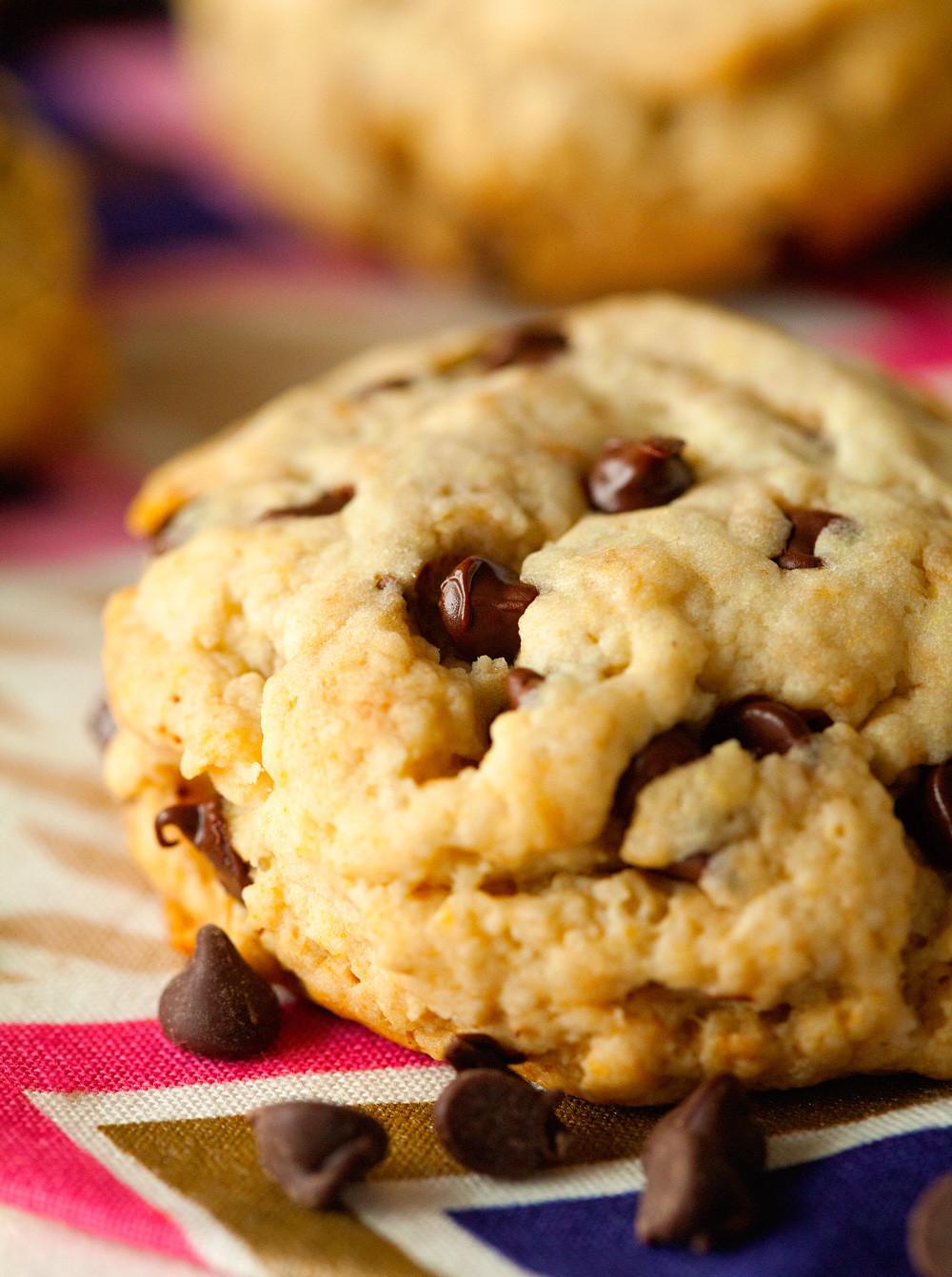 Healthier Chocolate Chip Cookies  Unbelievably Healthy Chocolate Chip Cookies