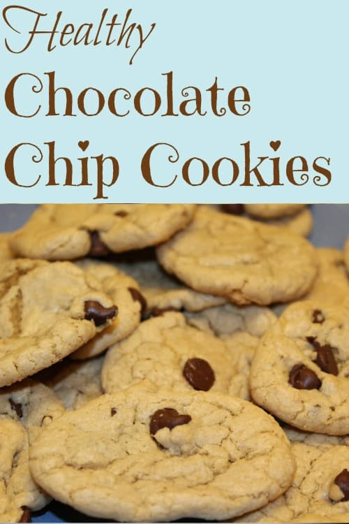 Healthier Chocolate Chip Cookies  Healthy Oatmeal Chocolate Chip Cookies