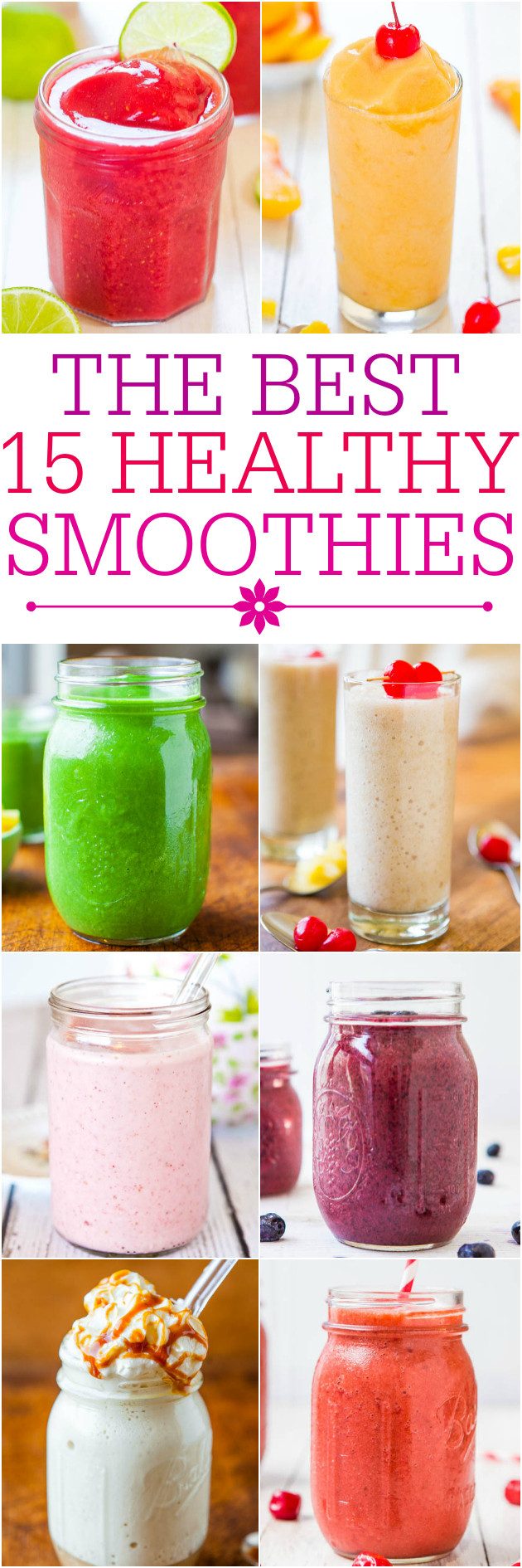 Healthiest Smoothie Recipes  Fruit and Yogurt Smoothie Averie Cooks