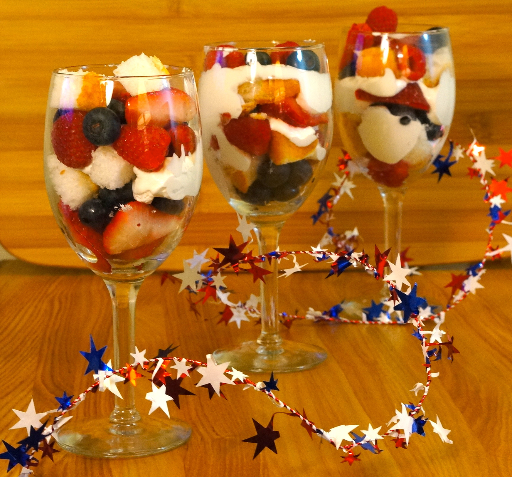 Healthy 4Th Of July Desserts  Red White and Blue Parfait We re Calling Shenanigans
