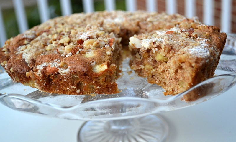 Healthy Apple Cake  Low Fat Apple Cake