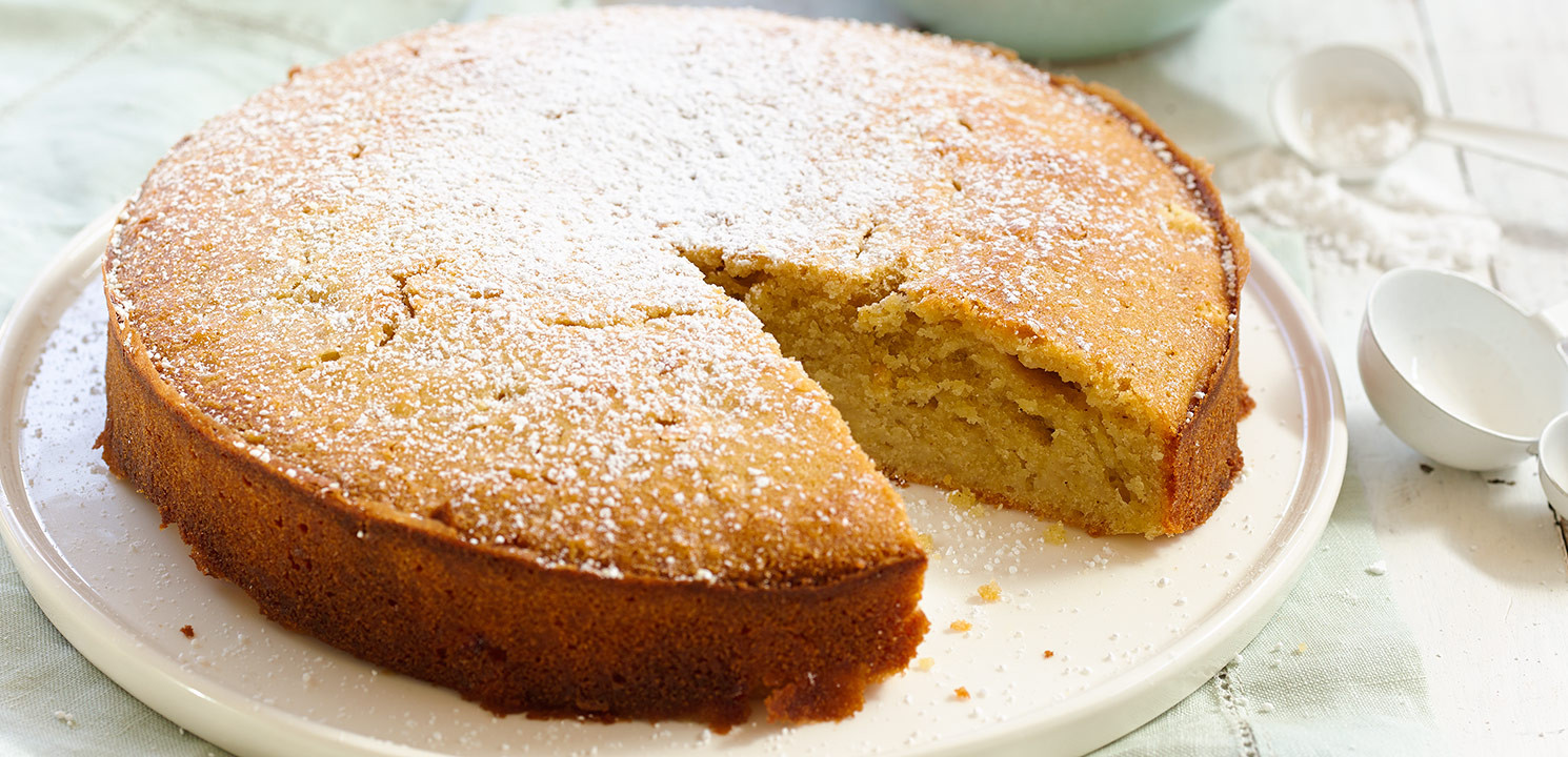 Healthy Apple Cake  Healthy Apple Cake