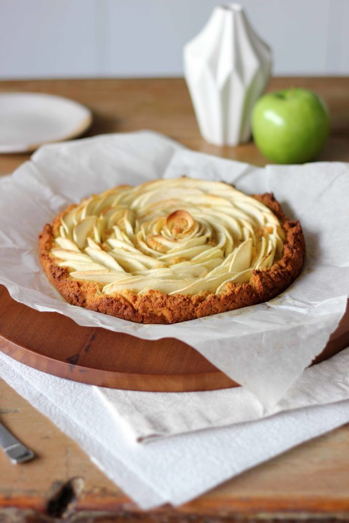 Healthy Apple Cake  Healthy Apple and Almond Cake GF