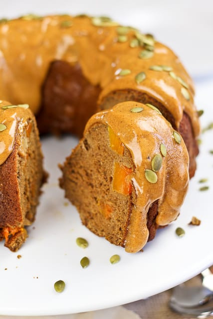 Healthy Apple Cake  Spicy Pumpkin and Apple Bundt Cake