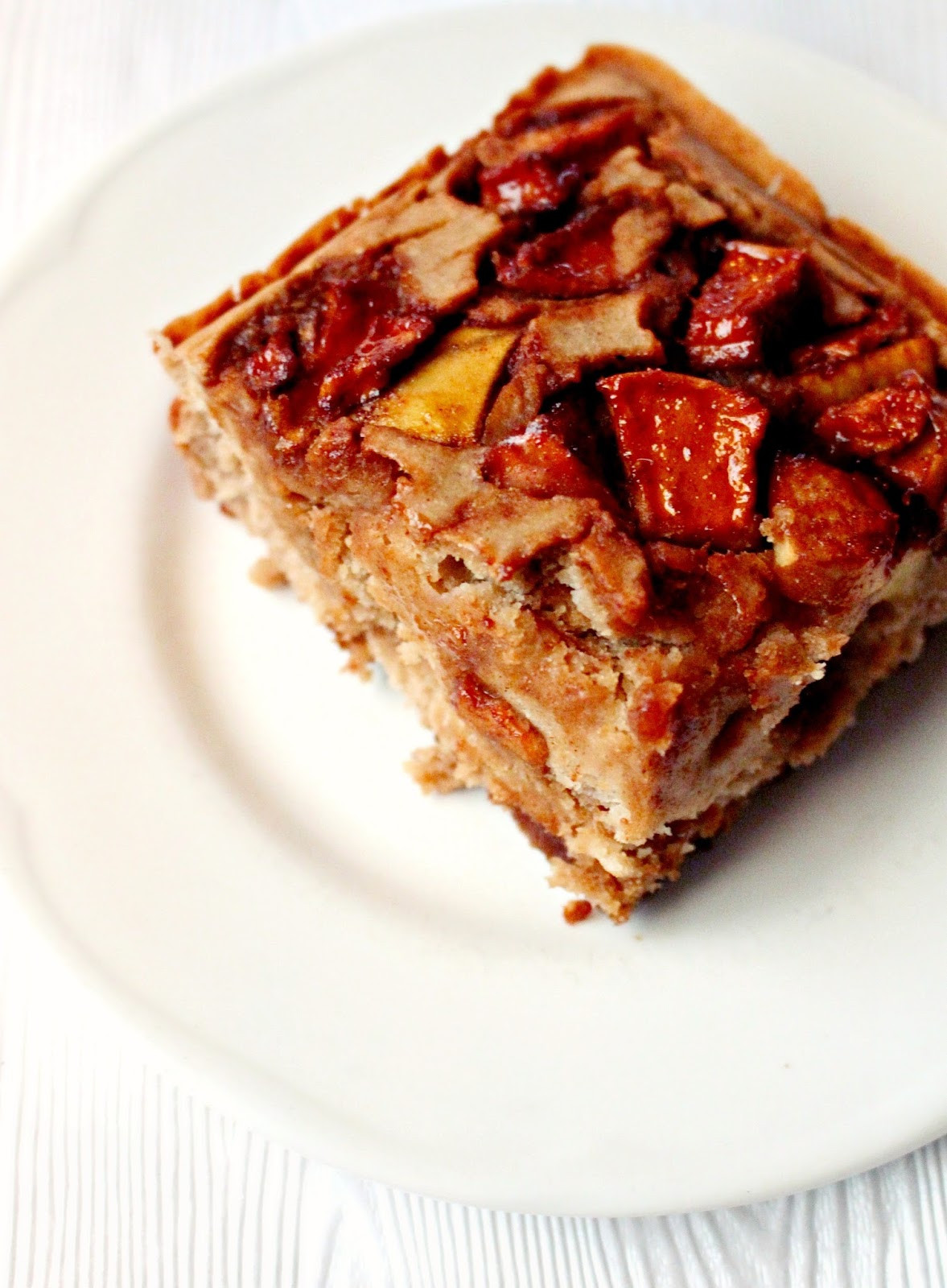 Healthy Apple Cake  Healthy Apple Cake vegan gluten free BAKING BACKWARDS