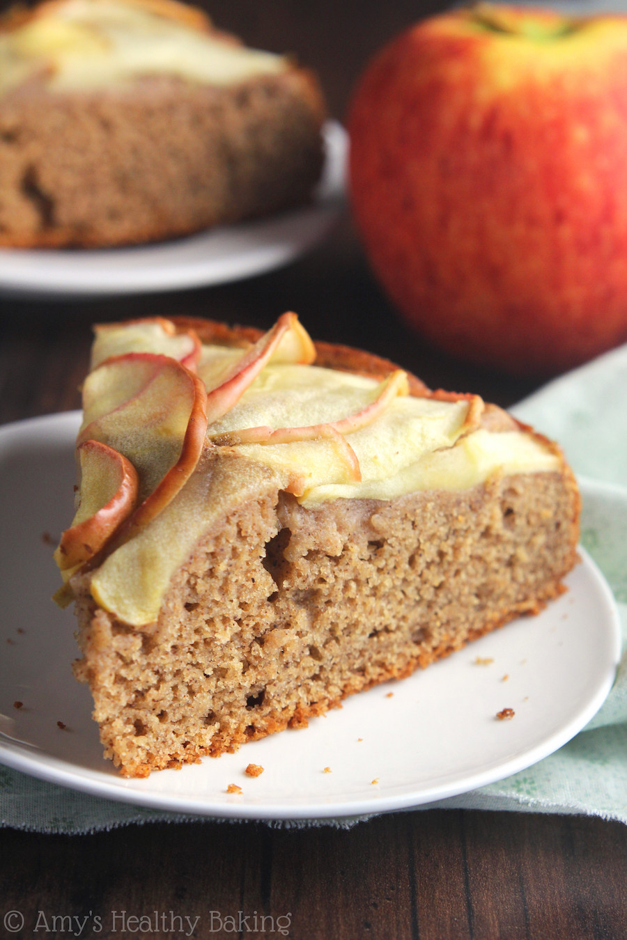 Healthy Apple Cake  Simple Cinnamon Apple Cake