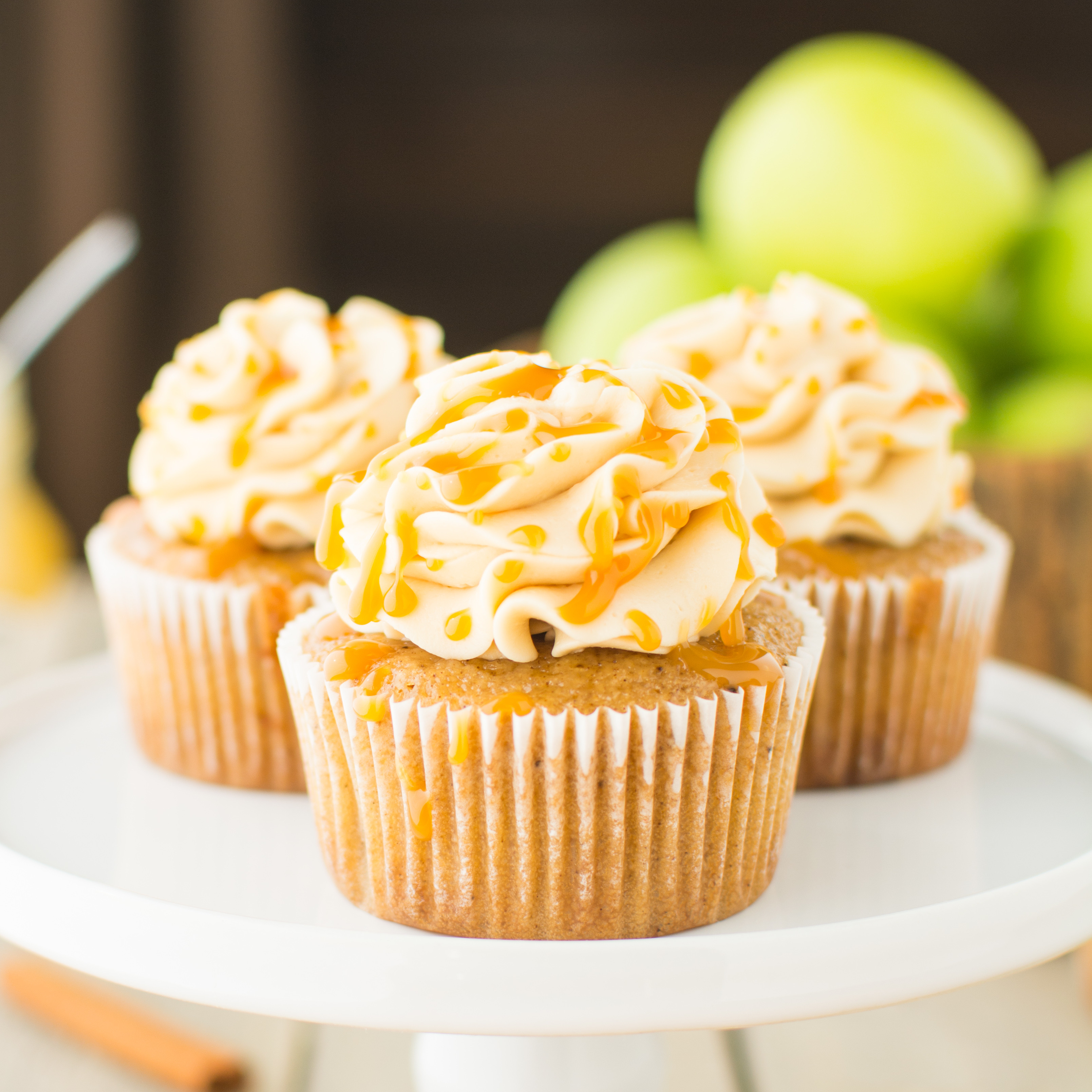Healthy Apple Recipes  healthy apple cupcakes