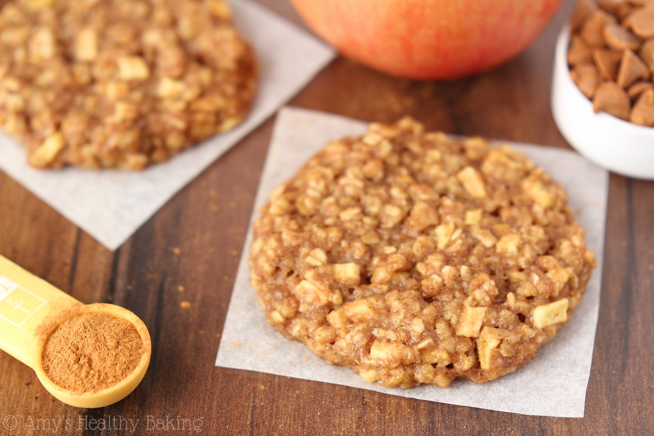 Healthy Apple Recipes  Apple Pie Oatmeal Cookies Recipe Video