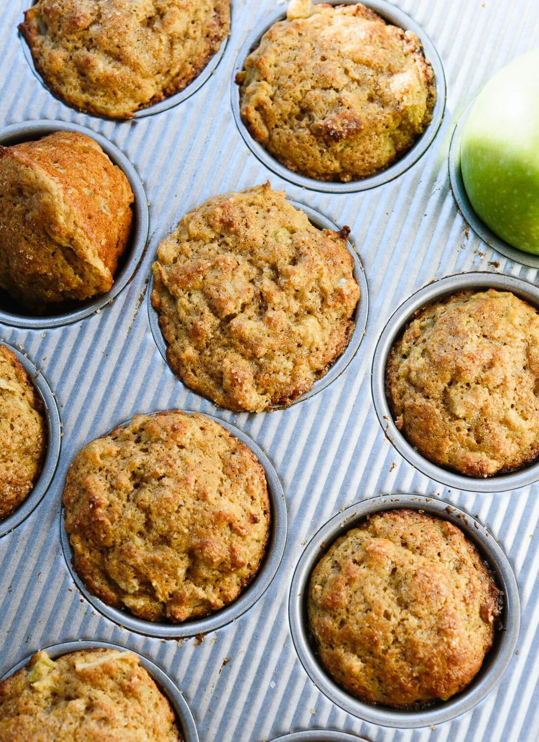 Healthy Apple Recipes  Healthy Apple Muffins Recipe Cookie and Kate