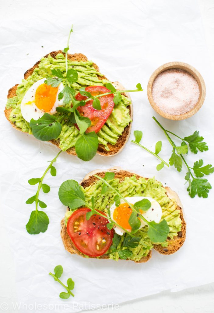 Healthy Avocado Breakfast  avocado toast healthy