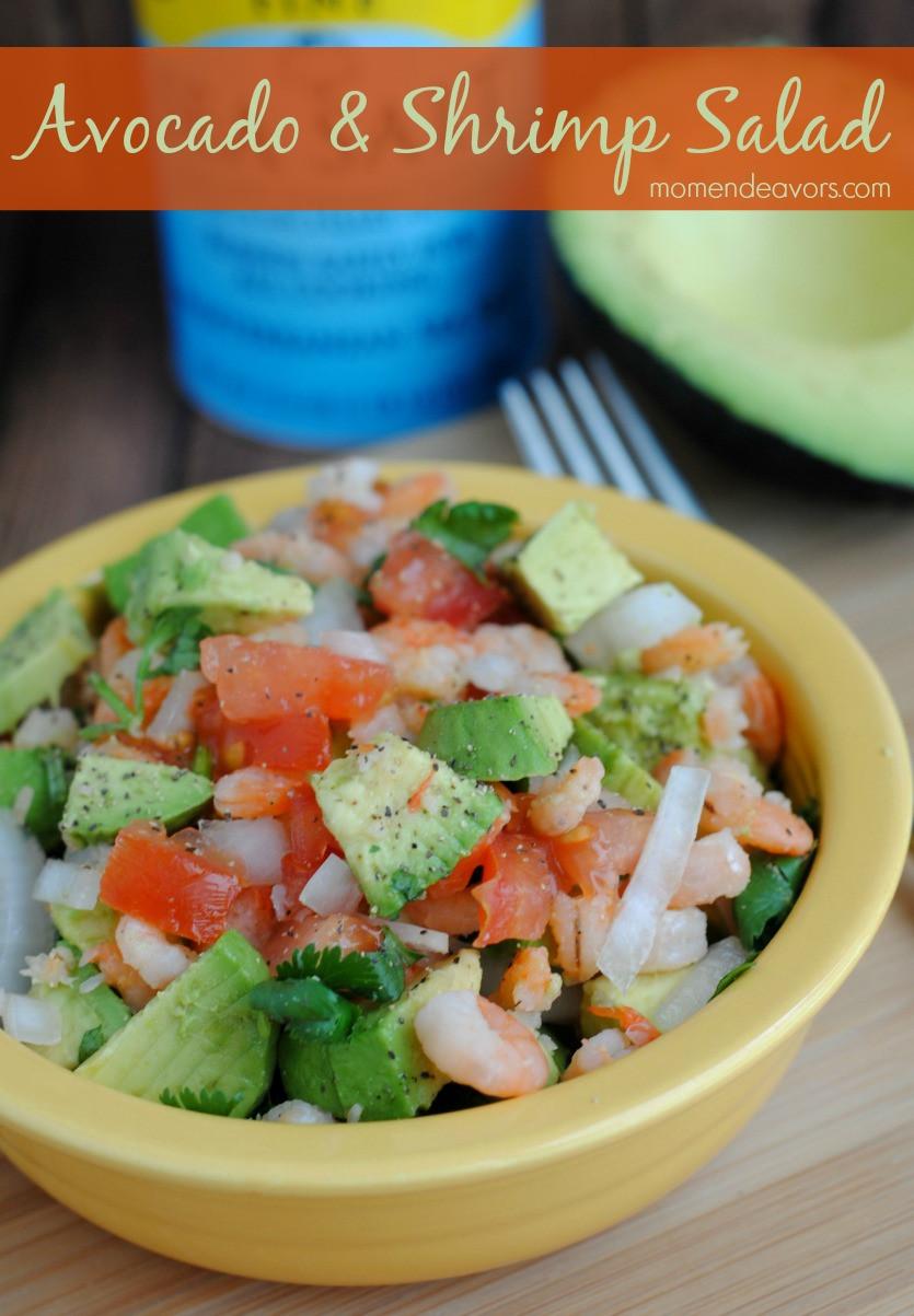 Healthy Avocado Recipes  Quick & Healthy Recipe Avocado & Shrimp Salad