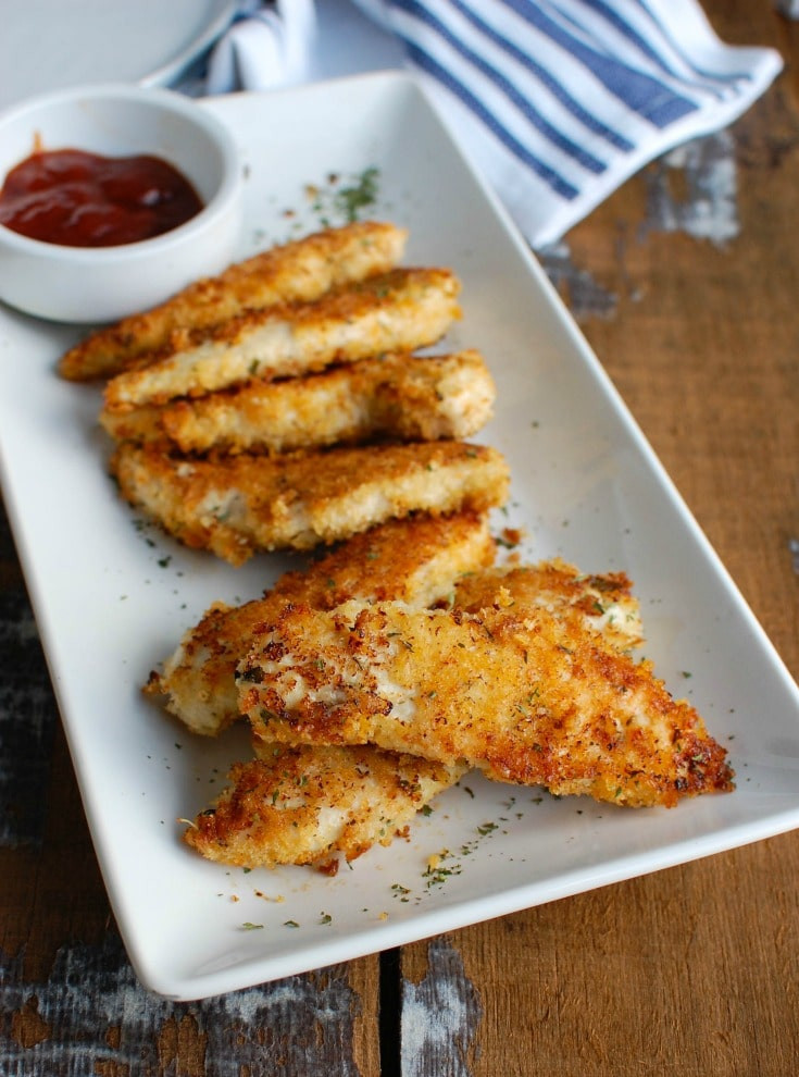Healthy Baked Chicken Recipes  Healthy Baked Chicken Fingers Recipe A Cedar Spoon