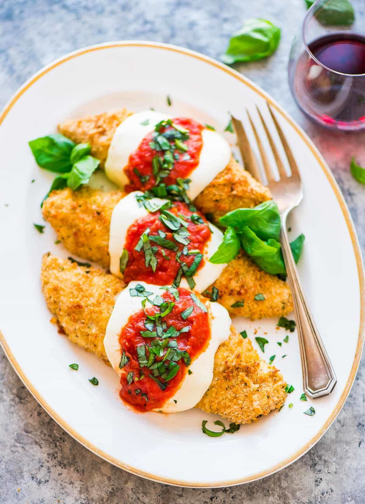 Healthy Baked Chicken Recipes  Baked Chicken Parmesan