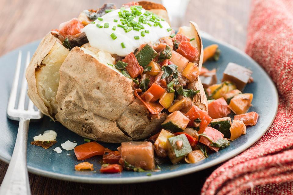 Healthy Baked Potato  Curtis Stone
