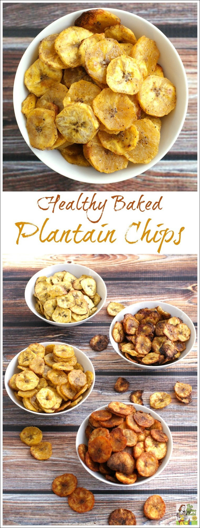 Healthy Baked Snacks  Healthy Baked Plantain Chips Four Ways