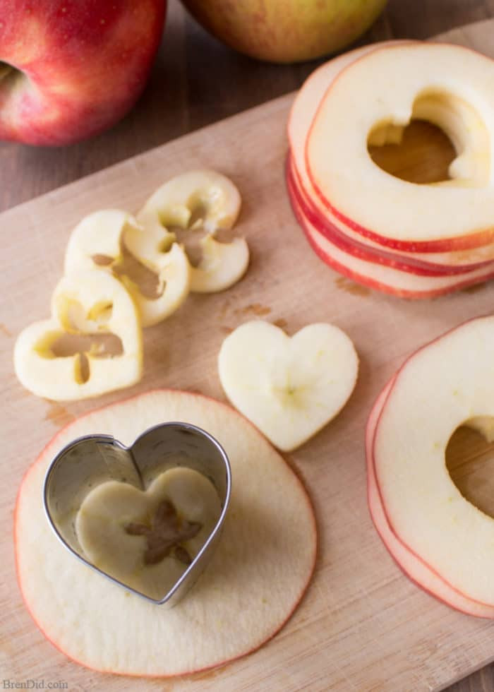 Healthy Baked Snacks  Healthy Oven Baked Apple Chips for Valentine s Day Bren Did