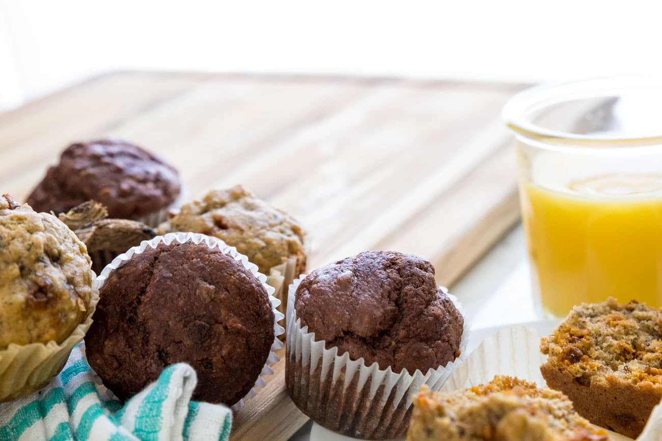 Healthy Banana Bread Muffins  Healthy Banana Bread Muffins Made 2 Ways Peanut Butter