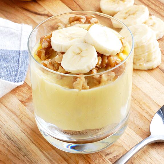 Healthy Banana Dessert  Guilt Free Banana Pudding No Dairy or Gluten Paleo Grubs