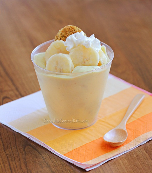 Healthy Banana Dessert  Banana Pudding The Secret Ingre nt Recipe