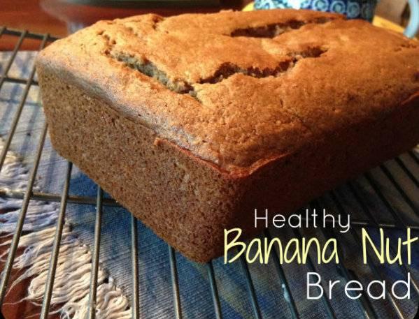 Healthy Banana Nut Bread  Healthy Recipe Banana Nut Bread