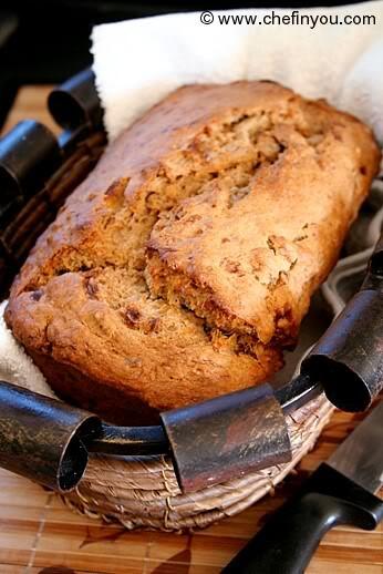 Healthy Banana Nut Bread  Vegan Banana Nut Bread with Maple Syrup Recipe