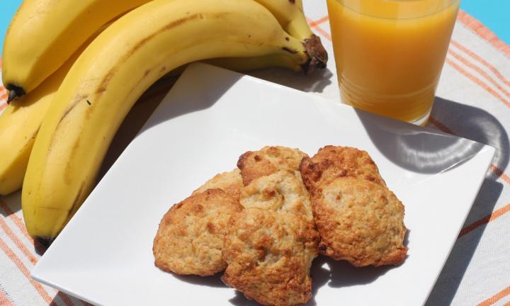 Healthy Biscuit Recipe  Banana biscuits Kidspot