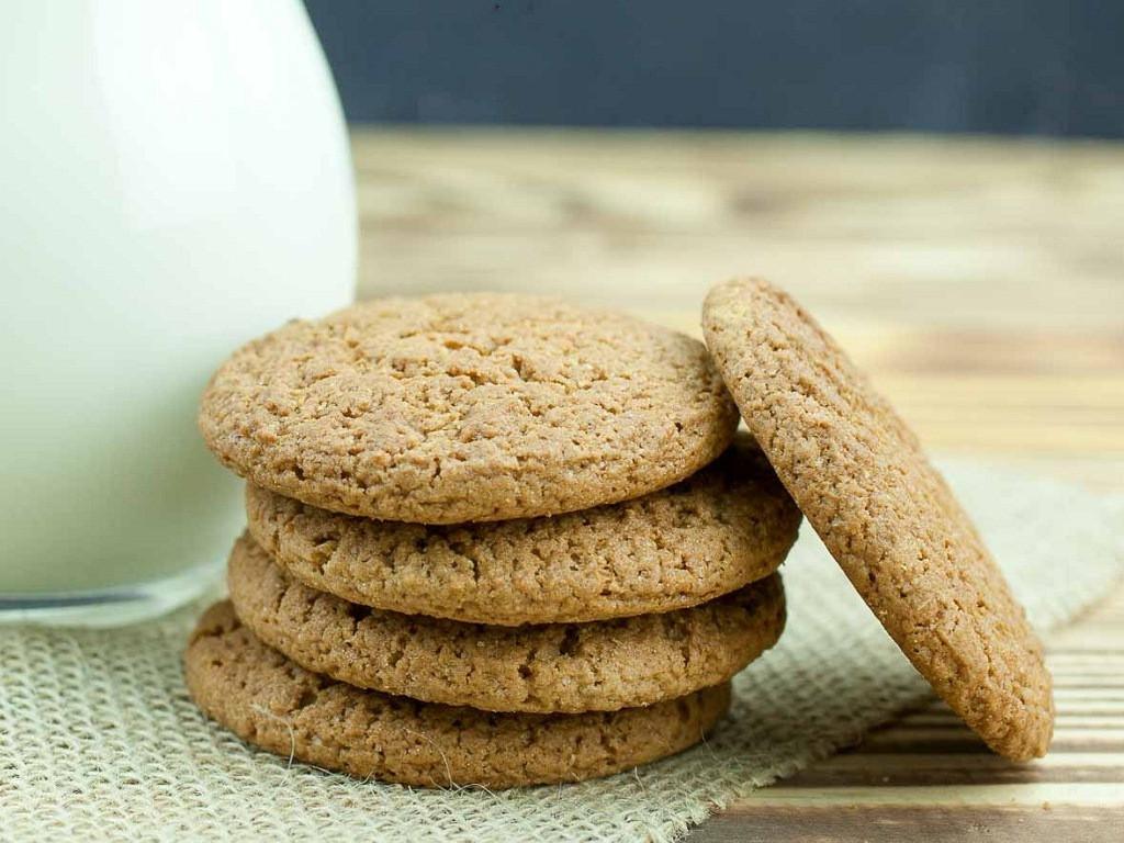 Healthy Biscuit Recipe  Crispy Wheat Biscuits Recipe