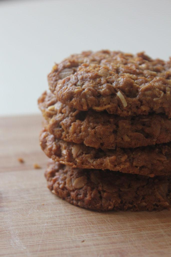 Healthy Biscuit Recipe  Recipe Healthy Spelt Anzac Biscuits