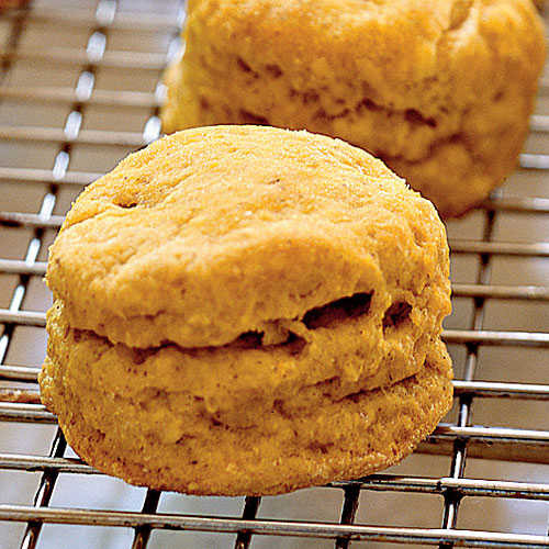 Healthy Biscuit Recipe  Spiced Pumpkin Biscuits Healthy Pumpkin Recipes