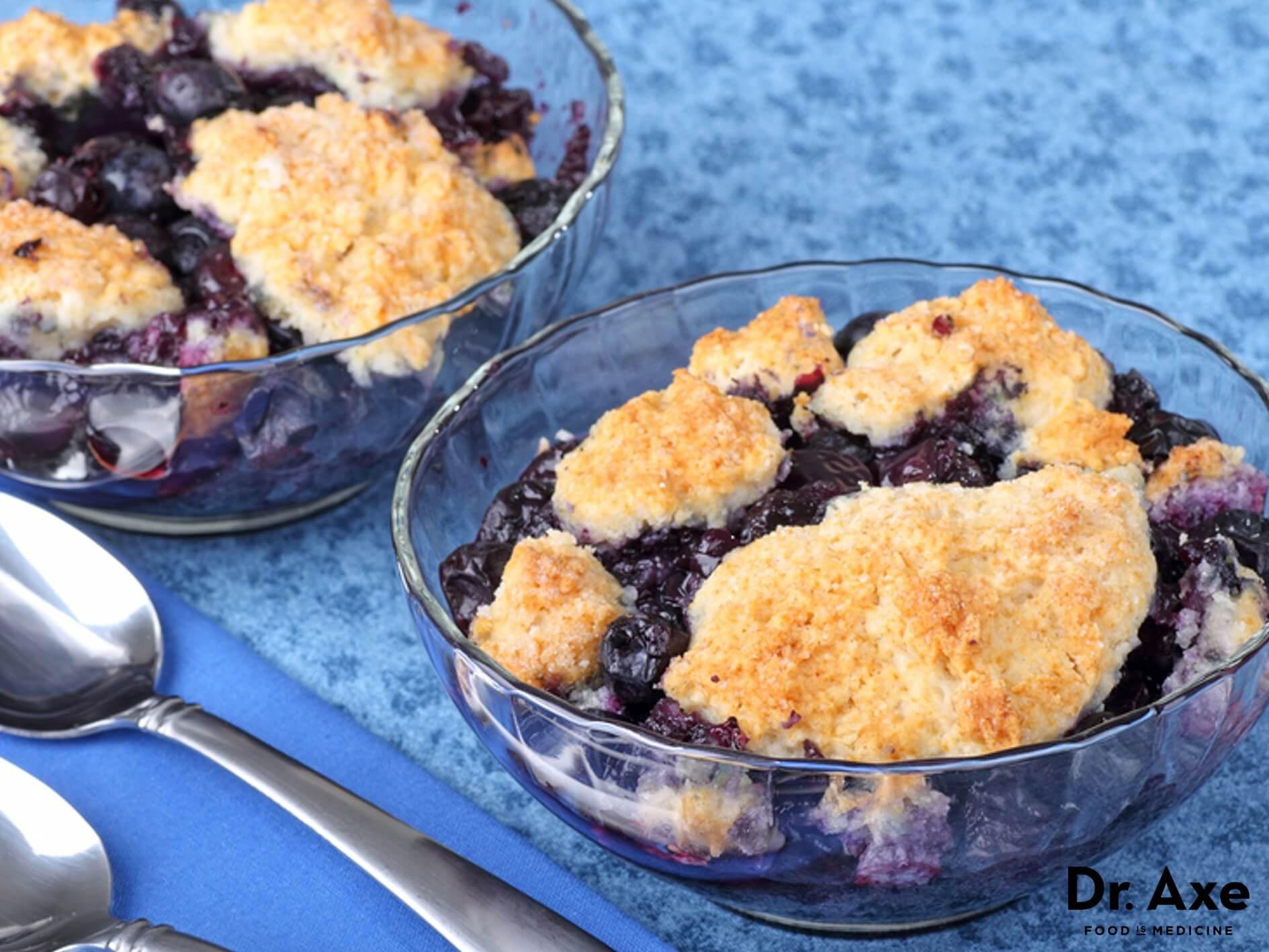 Healthy Blueberry Desserts  healthy blueberry dessert