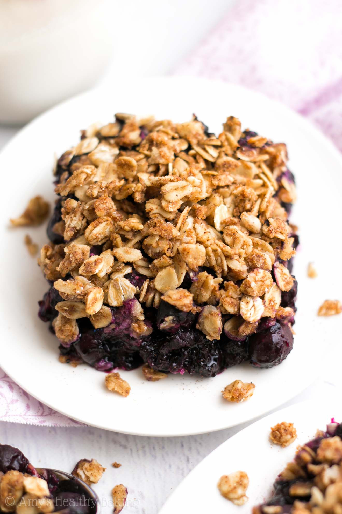 Healthy Blueberry Desserts  The Ultimate Healthy Blueberry Crumble Recipe Video