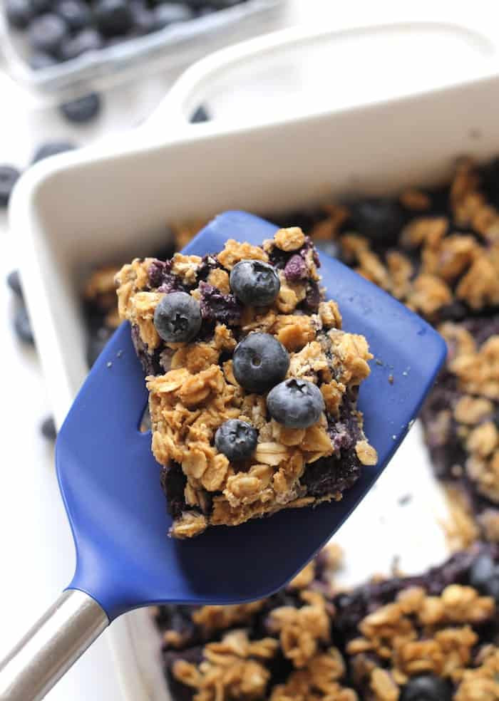 Healthy Blueberry Desserts  Healthy Blueberry Oatmeal Snack Bars