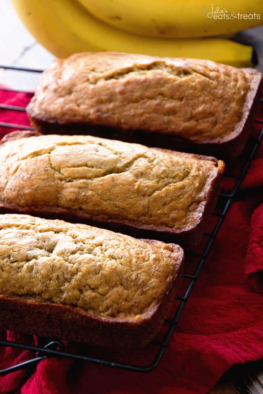 Healthy Bread Recipe  easy healthy banana bread
