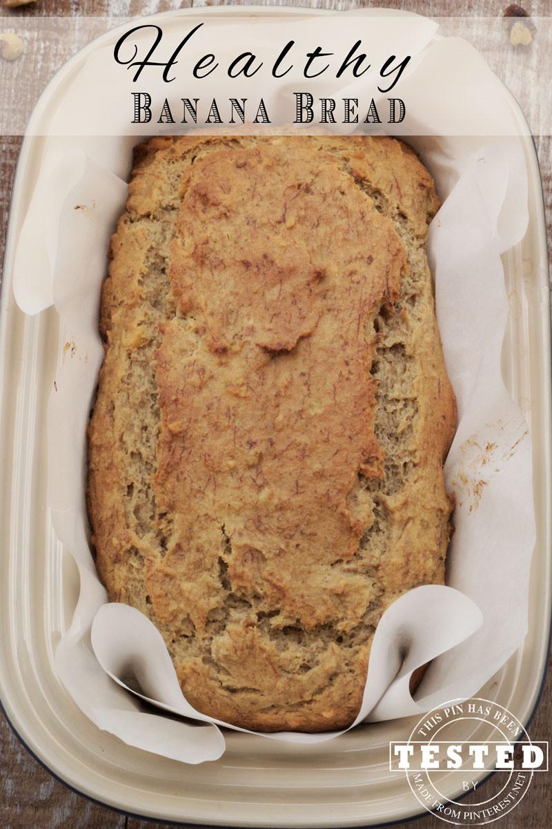 Healthy Bread Recipe  Healthy Banana Bread Recipe TGIF This Grandma is Fun