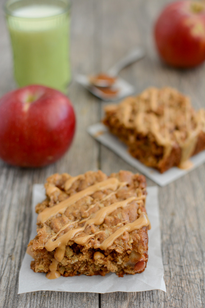 Healthy Breakfast Bar  Apple Cinnamon Breakfast Bars