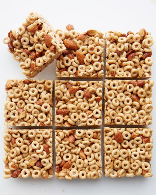 Healthy Breakfast Bar  Easy Healthy DIY Breakfast Cereal Bars Cloud b