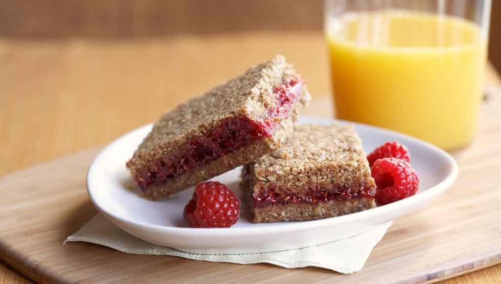 Healthy Breakfast Bar  Healthy Breakfast Bar Recipe Whole Grain Raspberry